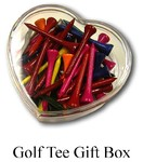 Golf Tee Gift Box and Jar