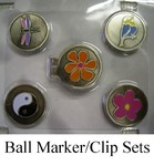 Ball Markers and Hat Clip Gifts